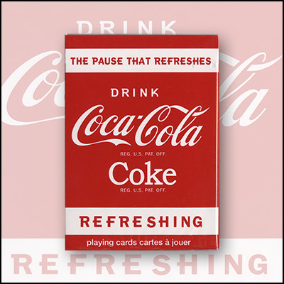 Coke Playing Cards (6 PACK) by USPCC