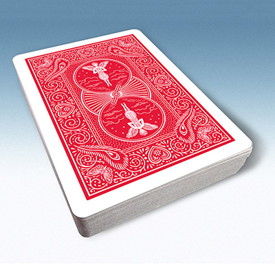 Bicycle Playing Cards 809 Mandolin Back (Red) by USPCC