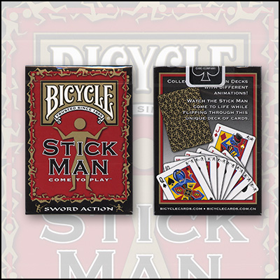 Bicycle StickMan Cards by USPCC