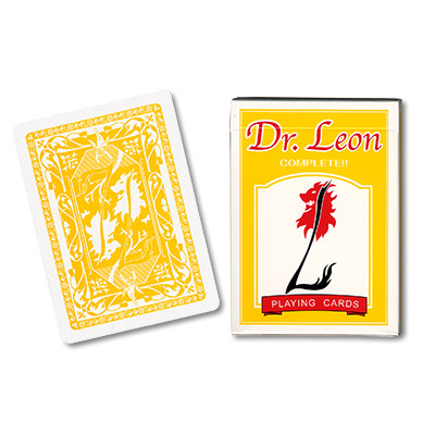 Cards Dr. Leon Deck (Yellow) by Hiro Sakai