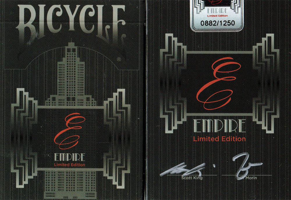 Bicycle Empire Limited Edition Playing Cards