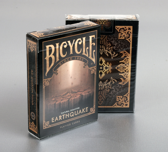 "Bicycle Natural Disasters ""Earthquake"" Playing Cards"