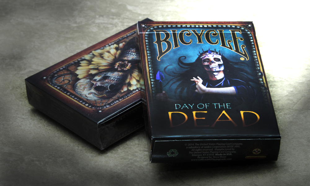 Bicycle Day of The Dead Playing Cards by Collectable Playing Cards