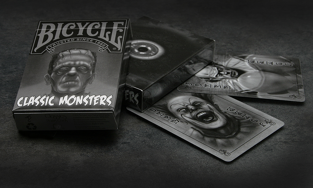 Buy Magic Tricks Bicycle Classic Monsters Limited Edition