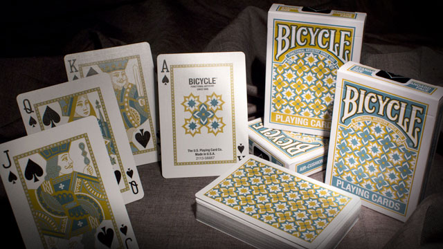 Bicycle Madison Deck Gold