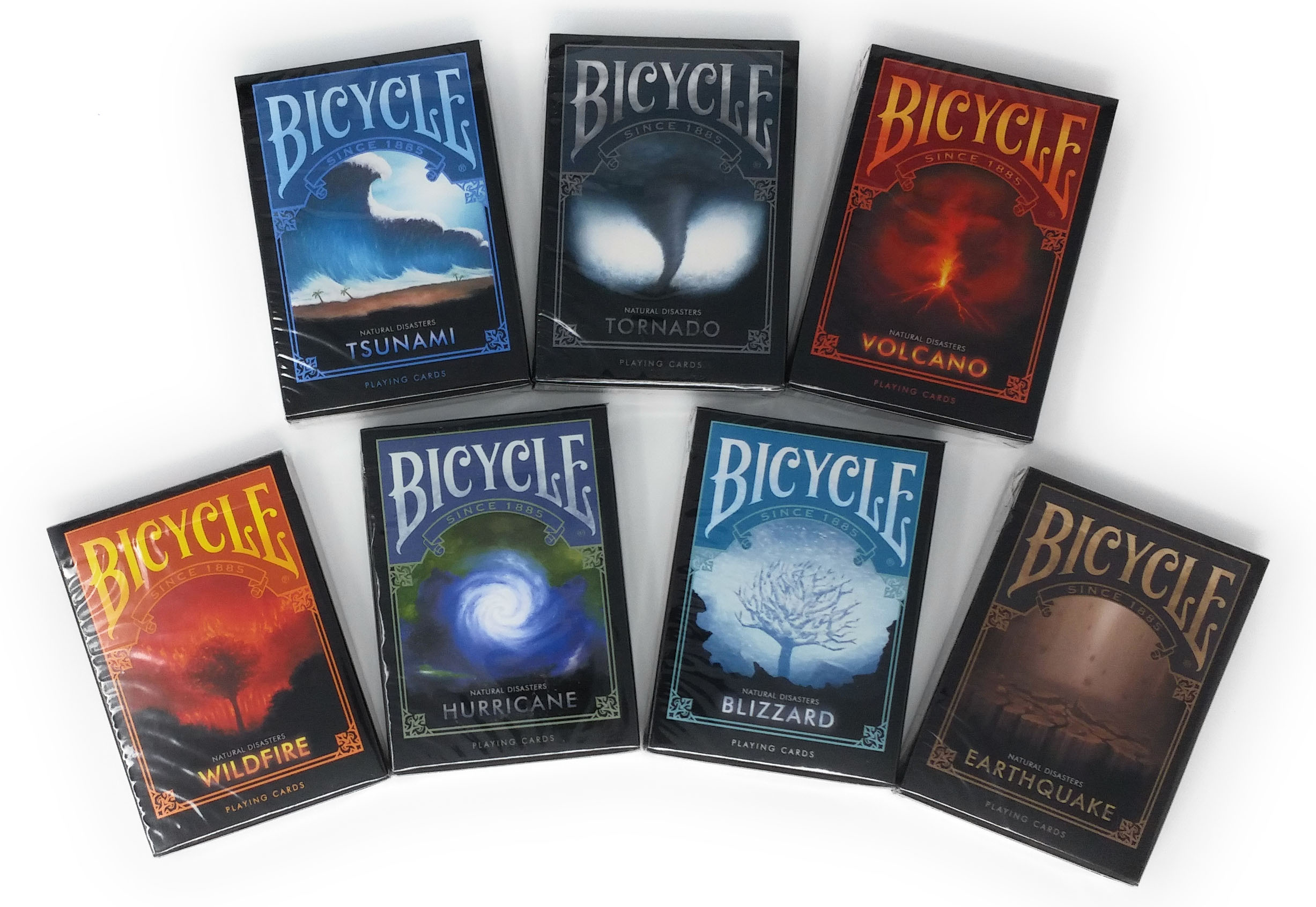 Bicycle Natural Disasters 7 Deck Set
