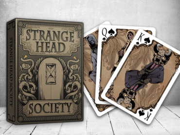 Buy magic tricks: Strange Head Society Deck Playing Cards