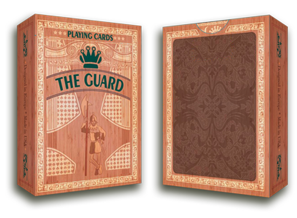 The Guard Oak Playing Cards