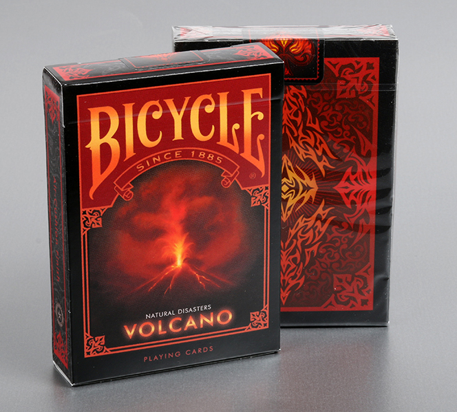 "Bicycle Natural Disasters ""Volcano"" Playing Cards"