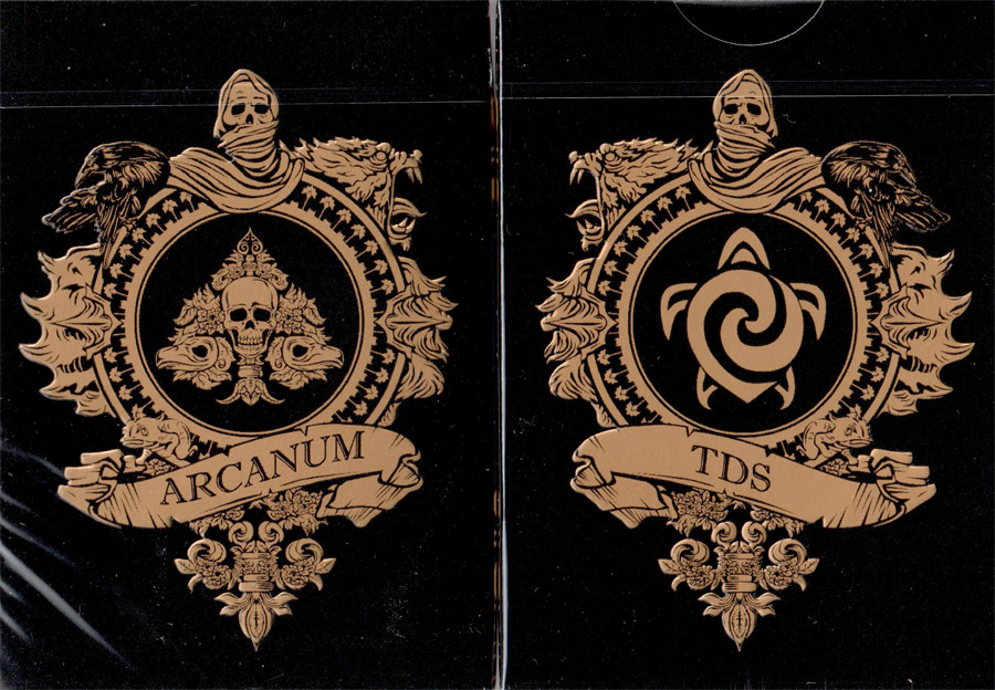 Arcanum Playing Cards (Balck)