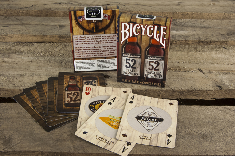 Bicycle Craft Beer Spirit of Noth America Playing Cards