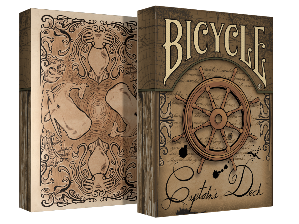 Bicycle Captains Deck Playing Cards