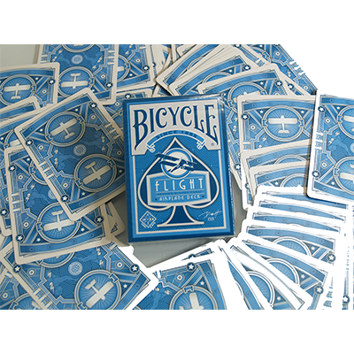 Bicycle Flight Deck (Blue) by US Playing Card