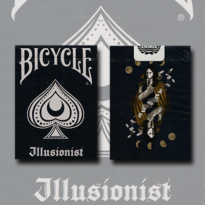 Bicycle Illusionist Deck Limited Edition (Dark) by LUX Playing Cards