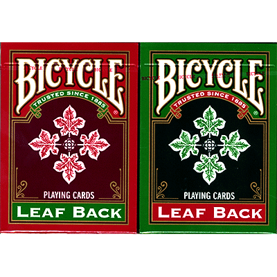 Bicycle Leaf Back Holiday