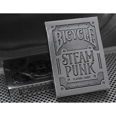 Bicycle Silver Steampunk by USPCC