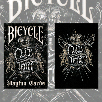 Bicycle Club Tattoo Cards by USPCC
