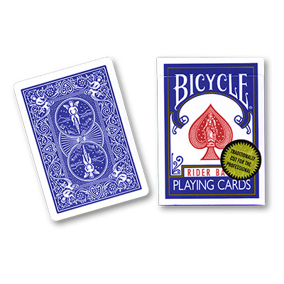 Bicycle Playing Cards (Gold Standard) - Blue BACK  by Richard Turner