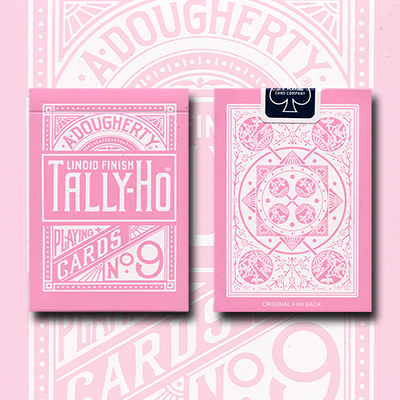 Tally Ho Reverse Fan back (Pink) Limited Ed. by  Aloy Studios / USPCC