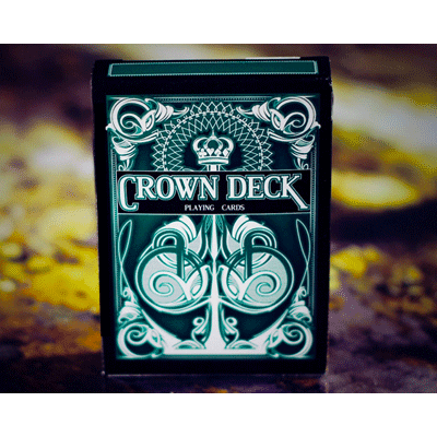 The Crown Deck (GREEN) from The Blue Crown - (Out Of Print)