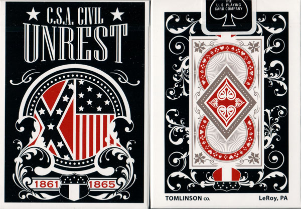 C.S.A. Civil Unrest Deck (Limited Edition / Confederate) by USPCC