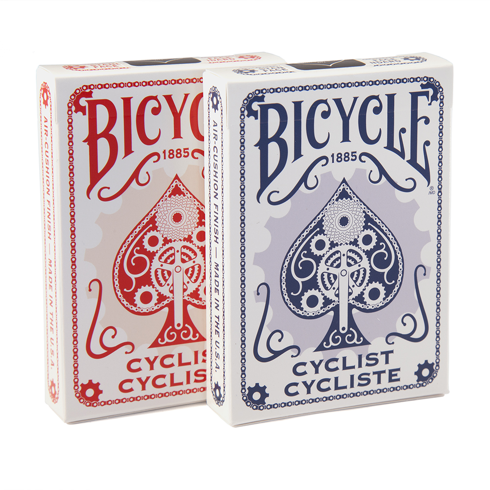 Buy magic tricks: Bicycle Cyclist Red Playing Cards