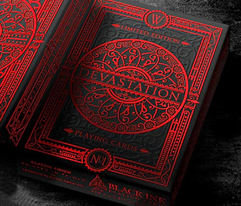 Devastation Limited Edition Playing Cards (No Seal)