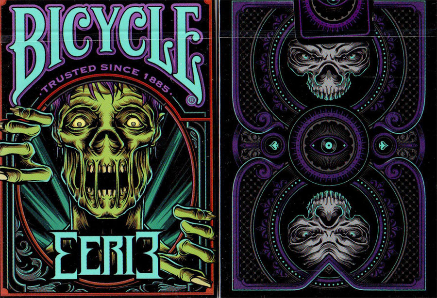 Bicycle Eerie Playing Cards Limited (Purple)
