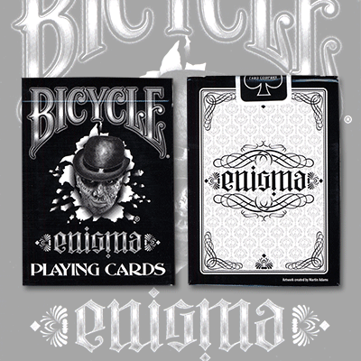 Enigma (Bicycle) Playing Cards by Martin Adams