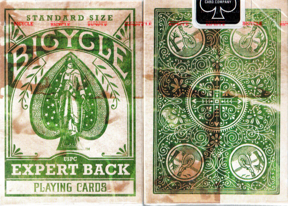Bicycle Expert Back Green