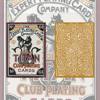 Global Titans (Gold) from The Expert Playing Card Co.