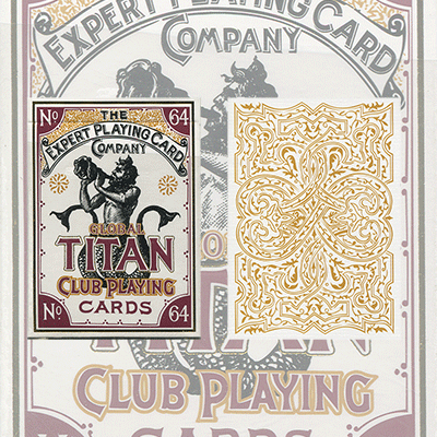 Global Titans (White) from The Expert Playing Card Co.