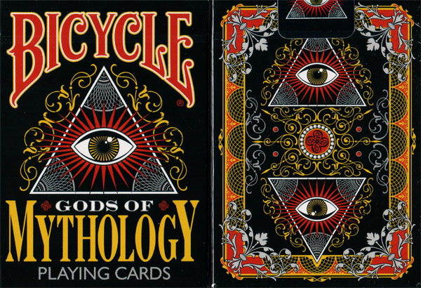 Bicycle Gods of Mythology Playing Cards by Collectable Playing Cards - (Out Of Print)