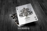 Bicycle Dream Playing Cards : Silver Edition