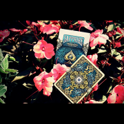 ORNATE White Edition Playing Cards (Sapphire) by HOPC