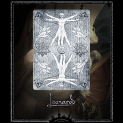 Leonardo Silver Edition by Art of Playing Cards Company