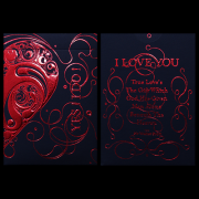 Love Promise Red Deck by Aloy Studio