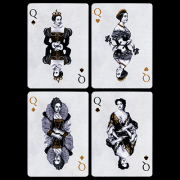 Tally-Ho British Monarchy Playing Cards by LUX Playing Cards