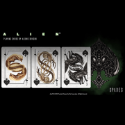 Alien Playing Card