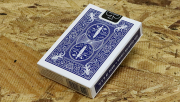 Bicycle Maiden Back (Blue) by US Playing Card Co
