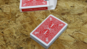 Bicycle Maiden Back (Red) by US Playing Card Co