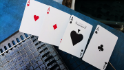 Blue Steel Playing Cards by The Bocopo Playing Card Company