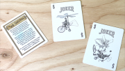 Bicycle Flying Machines Playing Cards by US Playing Card Co