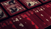 Samurai Deck V3 (Red) by USPCC and Marchand de Trucs