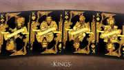 Middle Kingdom (Gold) Playing Cards Printed by US Playing Card Co