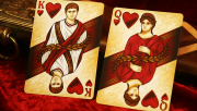 Rome Playing Cards (Caesar Edition) by Midnight Cards