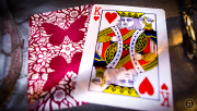 Butterfly Playing Cards Marked (Red) by Ondrej Psenicka