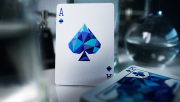 Memento Mori Blue Playing Cards
