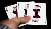 Juggler Playing Cards by Julio Ribera