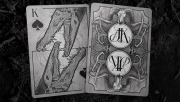 Bones (Dust) Playing Cards by Brain Vessel